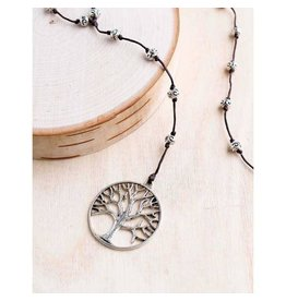 """Bali Queen Necklace-Tree of Life Alloy (40"""")"""