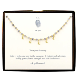 BU Jewelry Necklace-Trust Your Journey GOLD