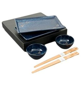 Sushi for 2 (6pc Set) 'Dragonfly'
