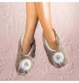 Faceplant Footsies Slippers-Sweet Dreams Sheep