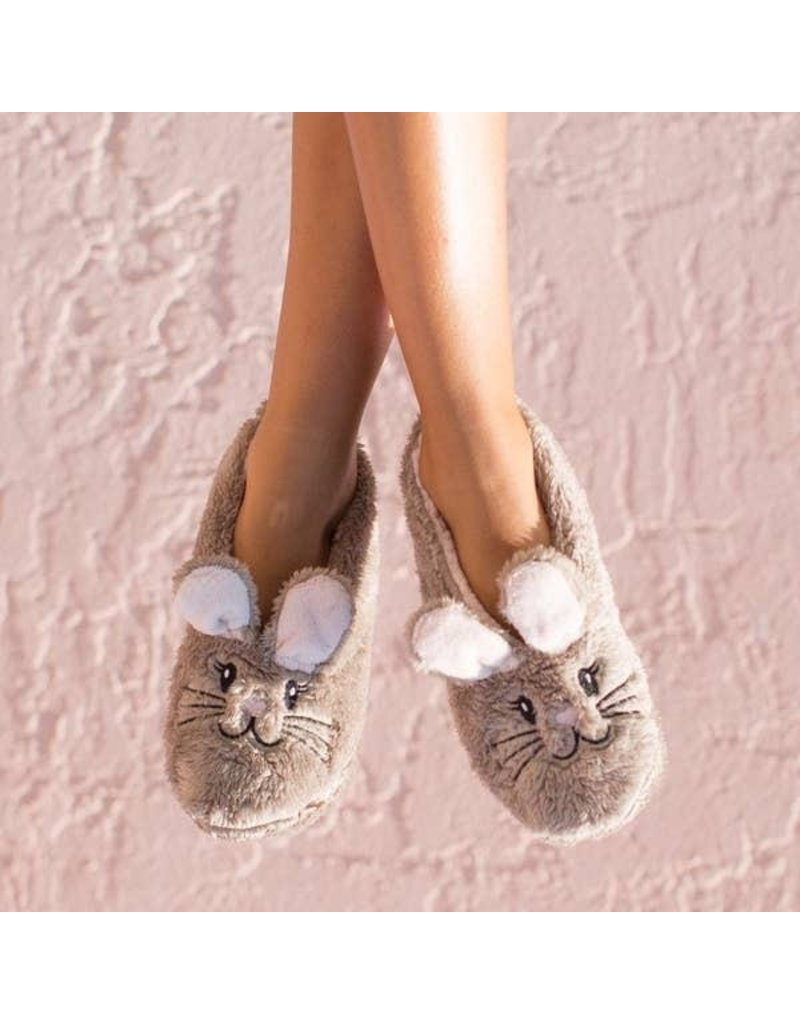 Faceplant Footsies Slippers-Snuggle Bunny