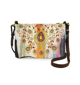 Papaya Art Crossbody -MORROCAN PEACOCK