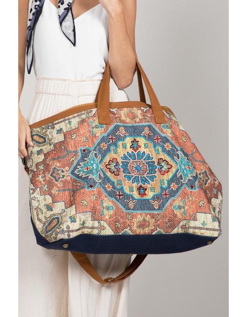 Urbanista Weekender Bag-Vintage Carpet Getaway