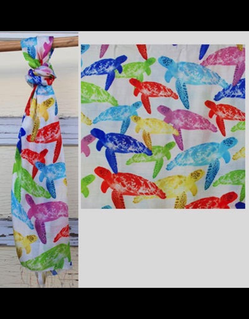 Art Studio Company Scarf Batik-Sea Turtle (Colored)