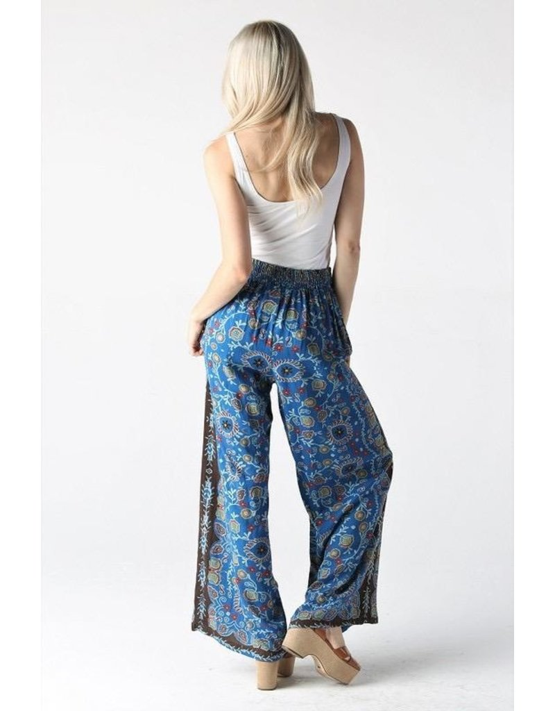 Angie Clothing Pants-Boho Breeze Wide Leg