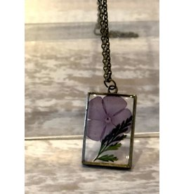 The Pretty Pickle Necklace-Birth Month Flower, AUGUST, Gladiolus