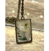 The Pretty Pickle Necklace-Birth Month Flower, DECEMBER, Paperwhite