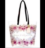 Papaya Art Bucket Tote -ALL FOR LOVE