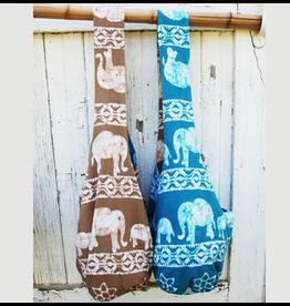 Art Studio Company Batik Cotton Sling Bag-Elephant (Blue)