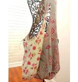 Art Studio Company Cotton Sling Bag-Heather Bloom/Spring Blossom