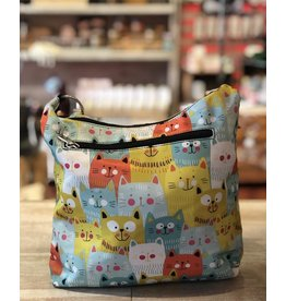 Crossbody Messenger-Many Many Cats