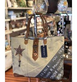 Chloe & Lex Tote-Star Key Maison Buckle Bag