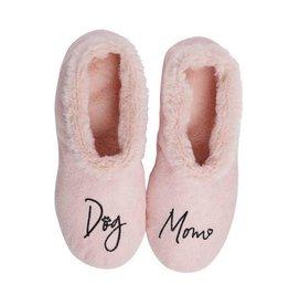 Faceplant Footsies Slippers-Dog Mom