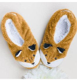 Faceplant Footsies Slippers-Foxy Fox