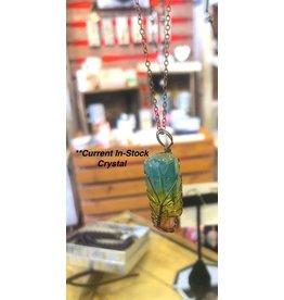 Necklace-Tree of Life, 7-CHAKRA Crystal Rainbow Pendant