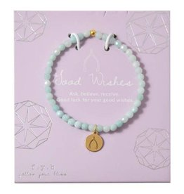 f.y.b Jewelry Bracelet-Mini Amazonite GOOD WISHES