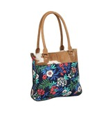 Myra Bag Handbag-Beautific Myra Canvas & Hide Hair