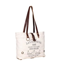 Myra Bag Shoulder Bag-Myra La Couspade White
