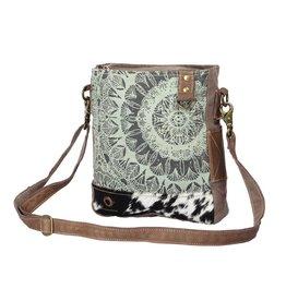 Myra Bag Shoulder Bag-Myra Verdant Mandala Print & Hide Hair