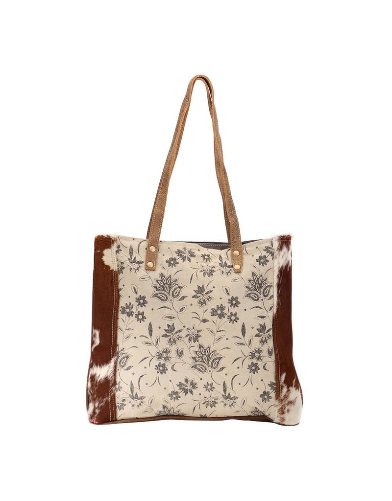 Myra Bag Tote Bag-Myra Urban Floral & Hide Hair