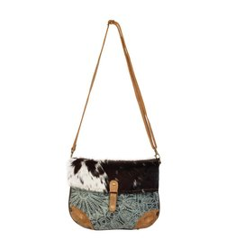 Myra Bag Crossbody Bag-Myra Verdant Mandala Print & Hide Strip