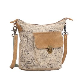 Myra Bag Shoulder Bag-Myra Doyen Sandy Floral