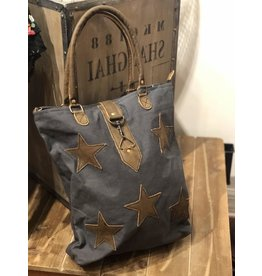 Myra Bag Tote Bag-Myra Canvas Stardom Bag