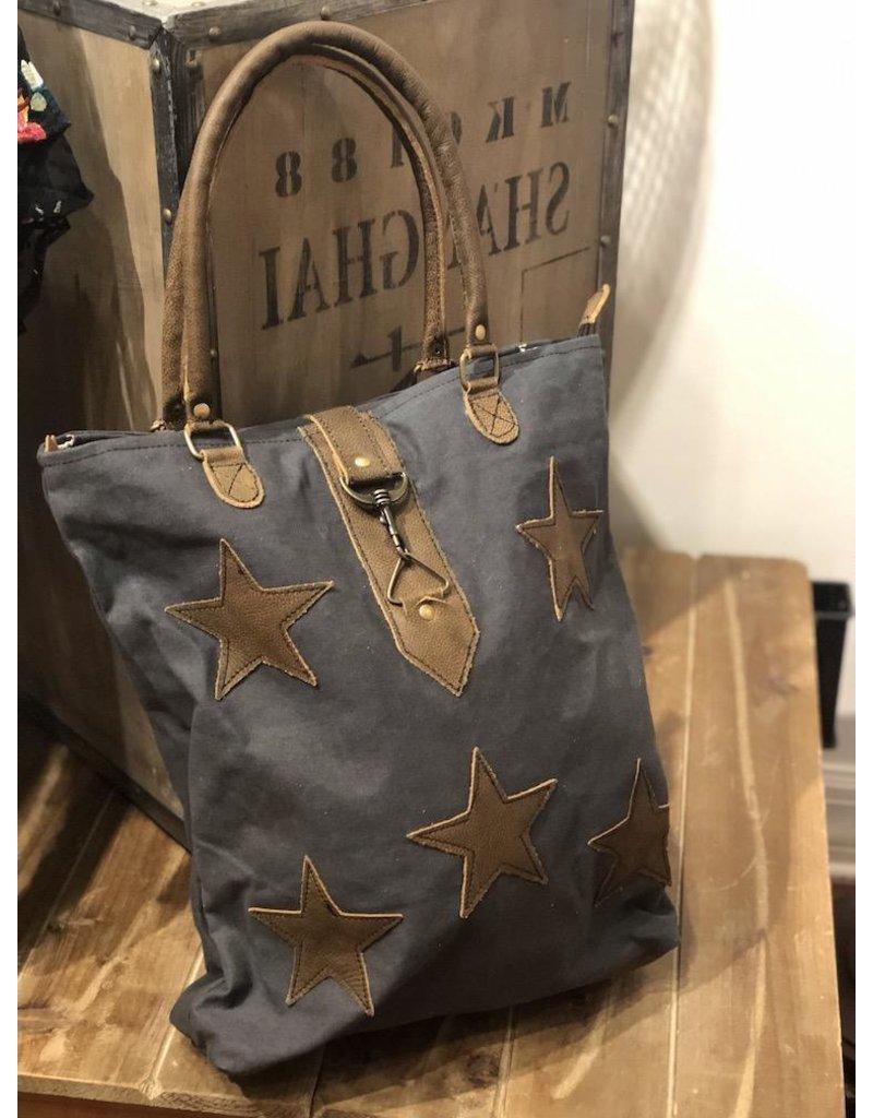Myra Bag Tote Bag-Myra Canvas Stardom Bag