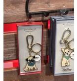 Petshop Keychain Gift Box-PUG DOG