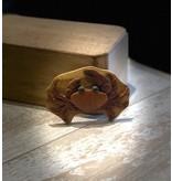 Wood Magnet-Crab II