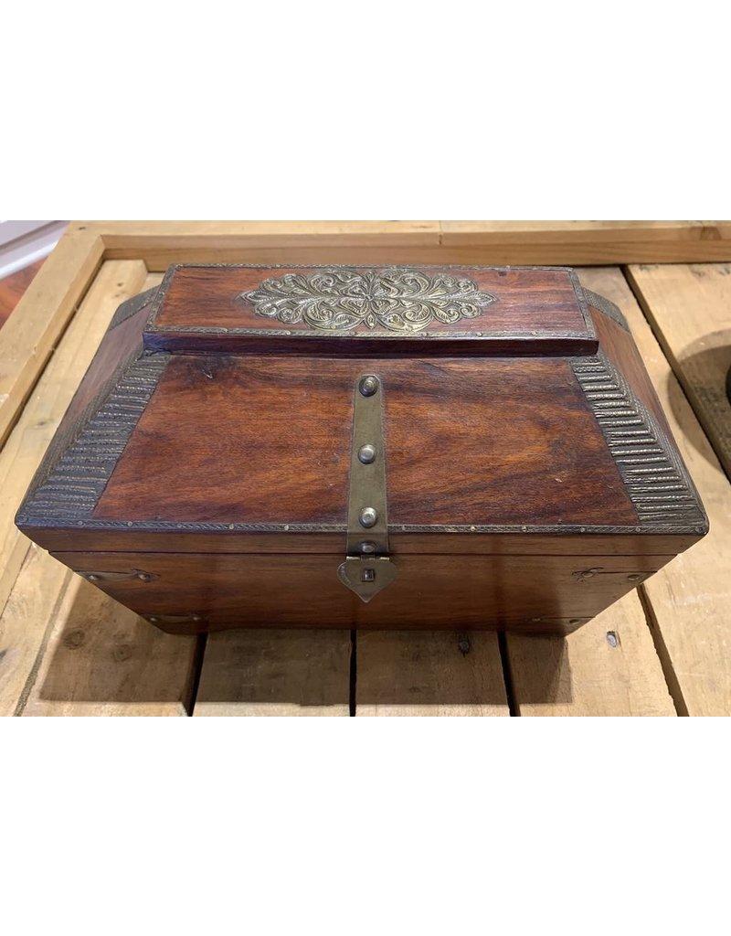 Colonial Style Tea Caddie