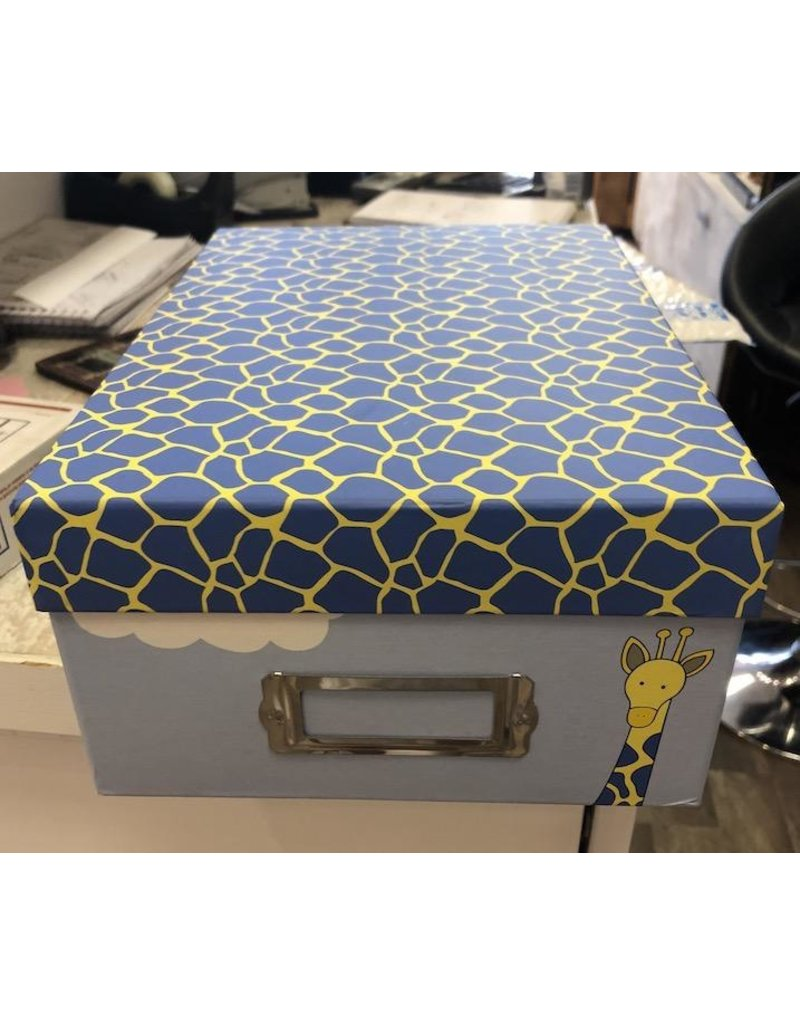 Cargo Collections Box-Giraffes Memory, Blue