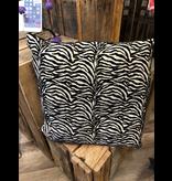 Cargo Collections Zebra Print Cushion