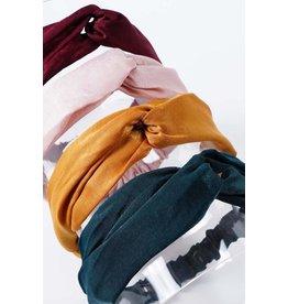 Amerikan Basics Headband-Satin Twist (any color)