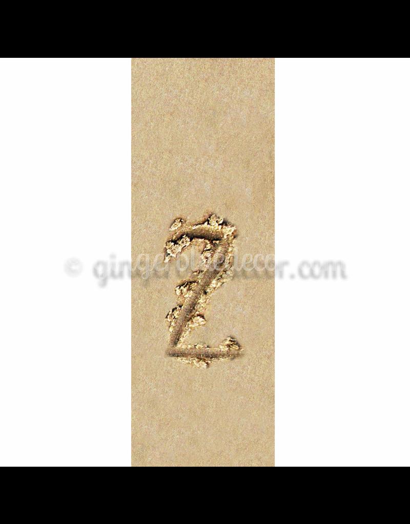 Ginger Blue Magnet-Sand Number - 2