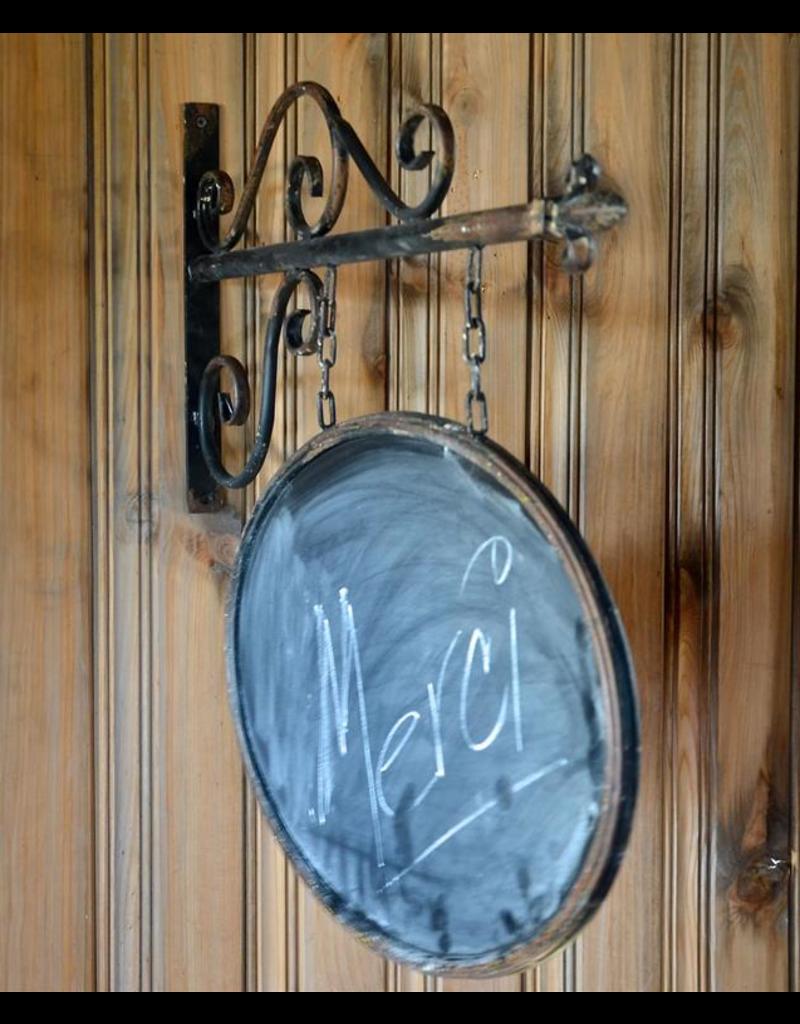 Oval Chalkboard Shingle