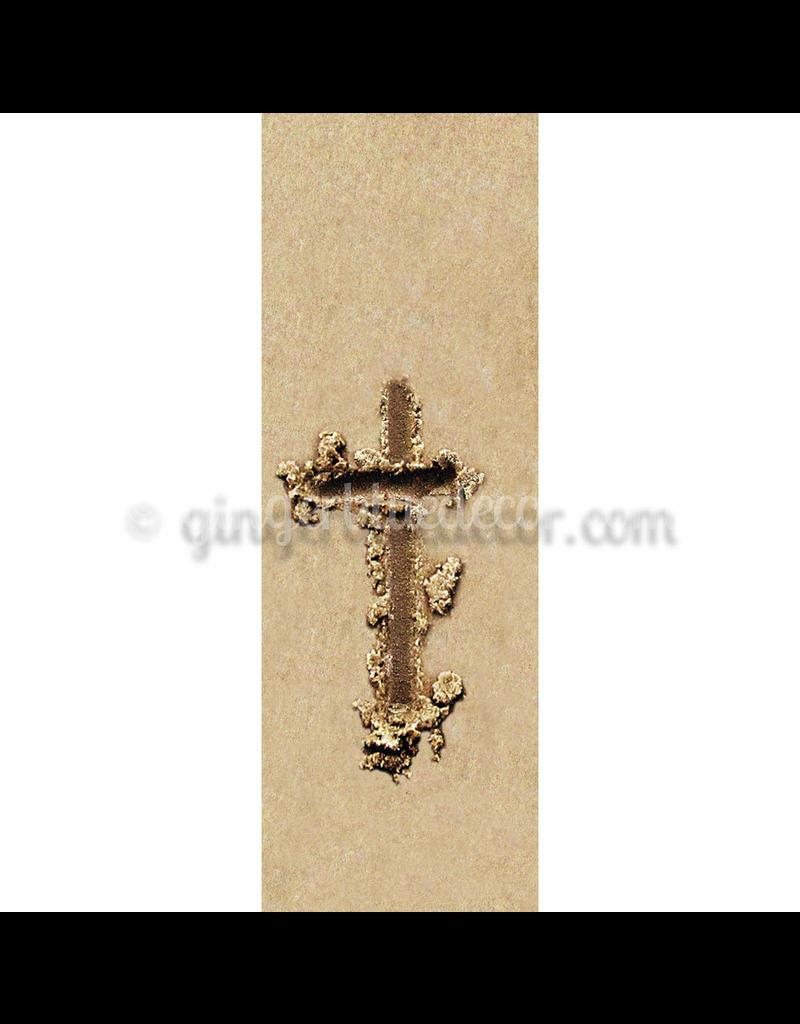 Ginger Blue Magnet-Sand Letter - T