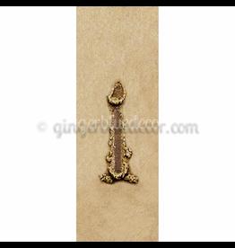 Ginger Blue Magnet-Sand Letter - I
