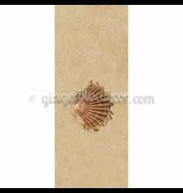Ginger Blue Magnet-Sand Shell Right - (Brown)