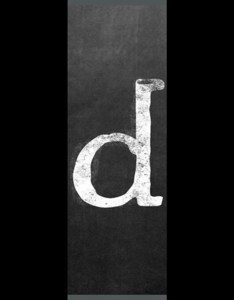 Ginger Blue Magnet-Chalk Letter - D (lower)