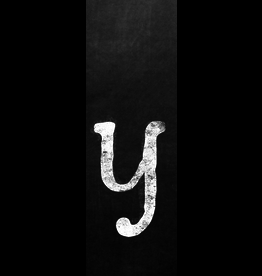 Ginger Blue Magnet-Chalk Letter - Y (lower)