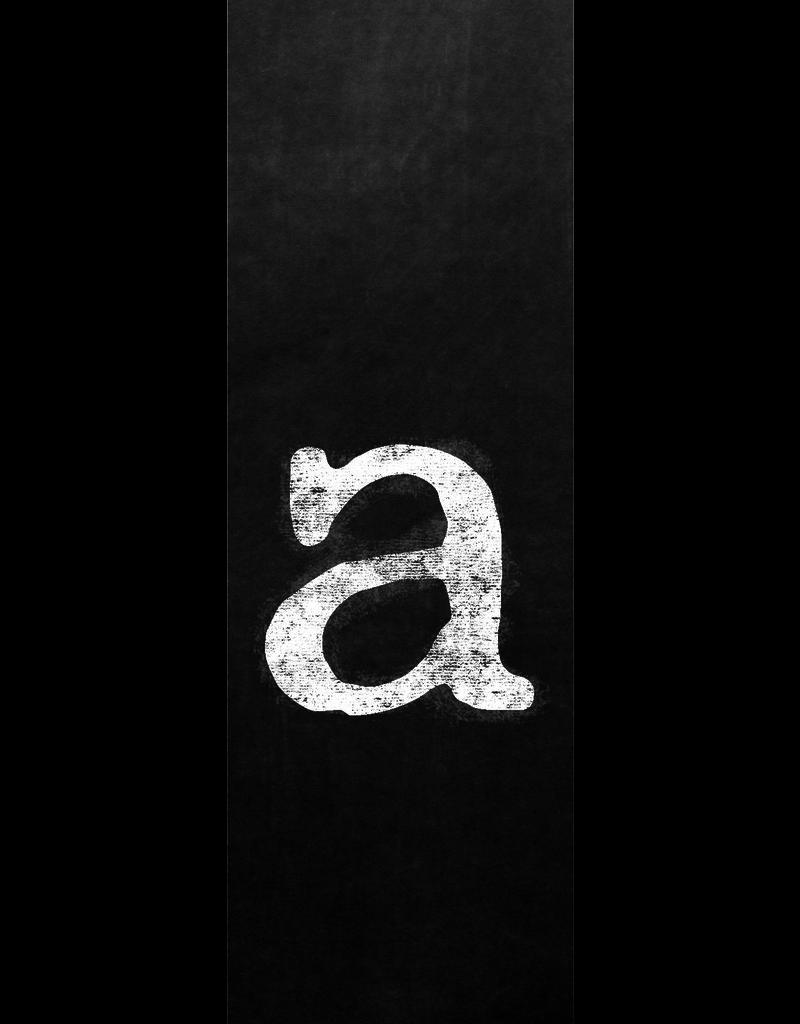 Ginger Blue Magnet-Chalk Letter - A (lower)