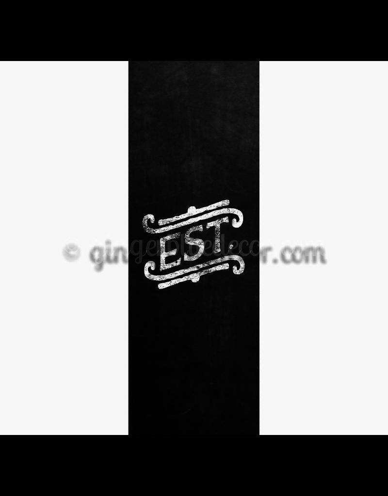 Ginger Blue Magnet-Chalk Word - EST