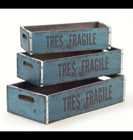Tripar Int Vintage Style Wooden Crate