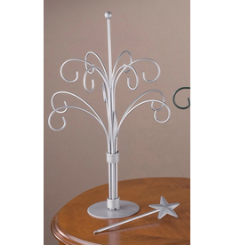 Tripar Int Silver Ornament Tree