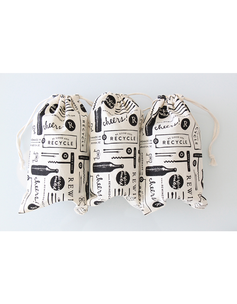 Rewined Rewined 100% Cotton Gift Bag