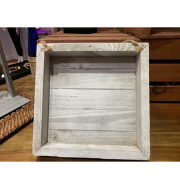 Cargo Collections Limewashed Shadow Box