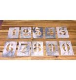 Stencil Numbering Set
