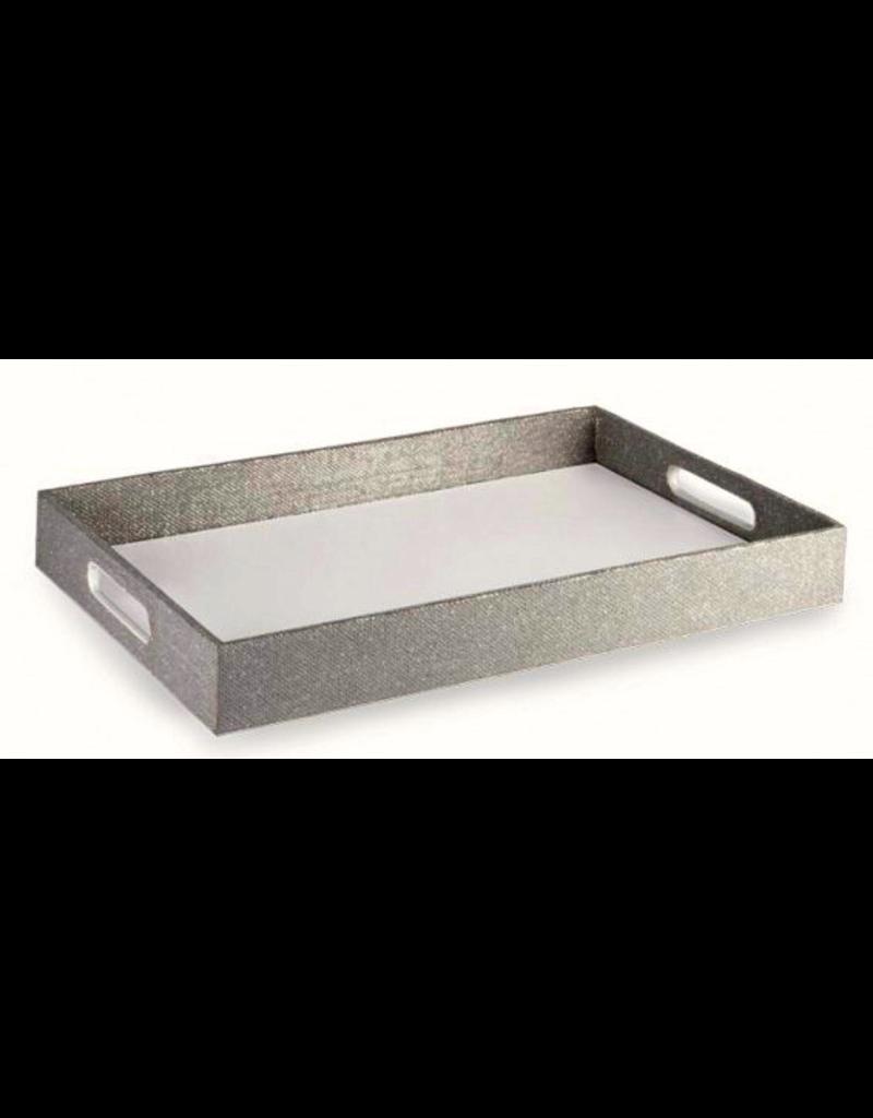 Wild Eye Designs Silver Tray - Winter Flourish