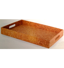 Wild Eye Designs Cork Tray - Poinsettia